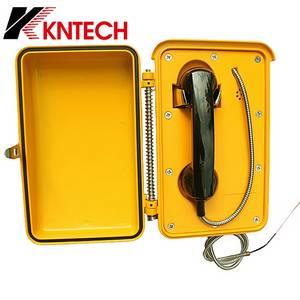 Wholesale Telephone Accessories: KNTECH KNSP-03 Telecom Tech Devices Intercom System Waterproof Telephone Outdoor Phone, Wireless GSM