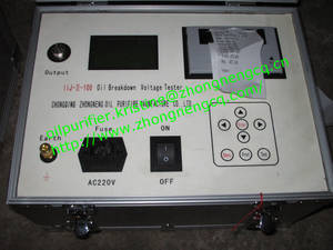 Wholesale insulation tester: IIJ-II Series Fully Automatic Insulation Oil Tester for Above 100KV