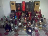 Jack Daniels, Black Label, Chivas Regal, Vodka
