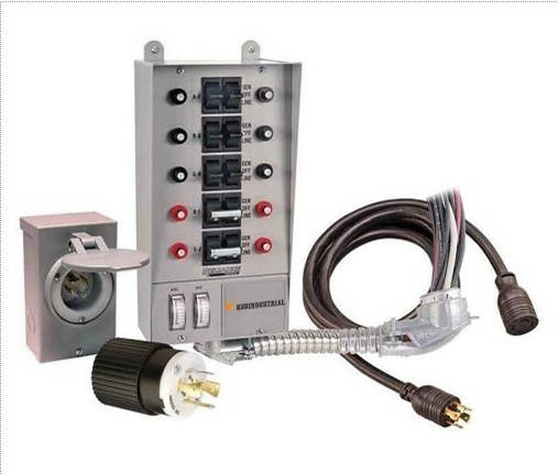 Manual Transfer Switch for Portable Generator - Xiamen KSB Industrial ...