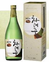 Korean Traditional Alcoholic Beverage 'ChaRyeJu' (Rice Wine)