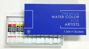 Wholesale water: (SHIELD) Shield Water Color 7.5ml X 13color /  7.5ml X 18color / 250ml (Single 15colors)