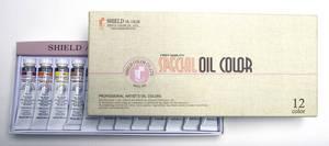 Wholesale sets: (SHIELD) Special Oil Color Set - 20mlX12color/20mlX24color // Single - 50mlX14colors/180mlX72colors