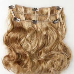 Wholesale Other Hair Accessories: European Hair Clip in Hair Extension 100% Human Hair