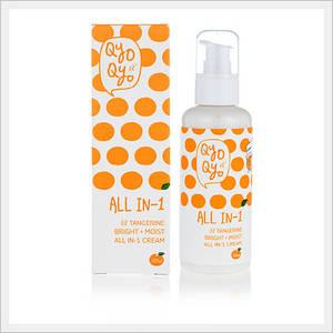 Wholesale tangerine: QyoQyo Tangerine Bright+Moist All IN-1 Cream