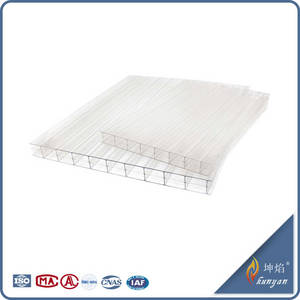 Wholesale pc sheet: 100% Bayer Material  Polycarbonate Hollow PC Sheet