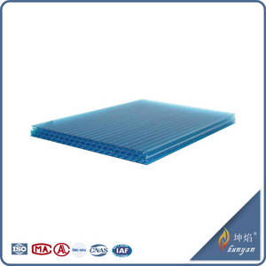 Wholesale pc station: Polycarbonate Honeycomb Sheet Construction Material