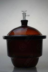 Wholesale Other Lab Supplies: VACUUM DESICCATOR Amber, with Ground - in Stopcock and Porcelain Plate