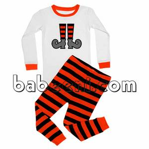 Wholesale shoes: Cute Witch Shoes Appliqued Knit Set for Halloween - KN 136
