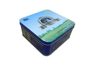 Wholesale food tin: tin gift box  pets food tins  canister tin   table cookie canister