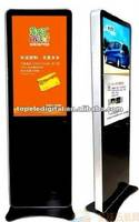42 Inch Iphone Design Floor Standing LCD Media Player