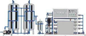 Wholesale water purification: 10T/H Water Purification Treatment/Double Reverse Osmosis Water Purification Machine