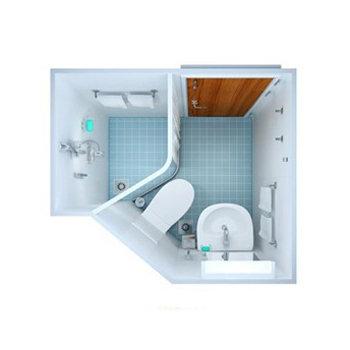 Prefabricated Bathroom Pods Mdmb001 Sm001 Id 7646843