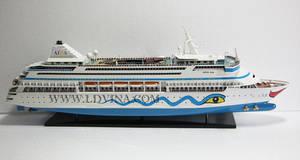 Wholesale Wood Crafts: AIDA Vita Cruise Ship Model