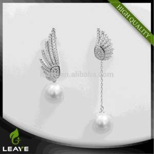 Wholesale gold earrings: Thailand Jewelry Manufacturer Yellow Gold Plating 925 Italian Silver Wholesale Earrings