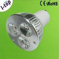 Indoor Commercial Fluorescent High Efficiency LED Spot Lamps For Back Lighting Gu10 3w