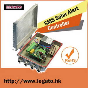 Wholesale mobile phones: GSM Sms Solar Controller Built in A Waterproof