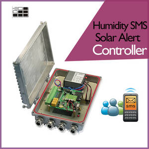 Wholesale data logger: 2017Temperature Humidity Data Logger with SMS Solar Alert Controller