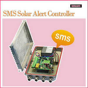 Wholesale Access Control Systems & Products: GSM Sms Alarm Device in A Waterproof Enclosure with Alarm Inputs