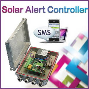 Wholesale Solar Energy Products: 2017 SMS Solar Alert Controller