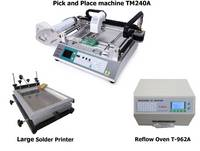 Sell PCB Manufacturing Line with SMT,PnP Machine,Stencil Printer,