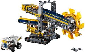 Wholesale truck: LEGO Technic 42055 Bucket Wheel Excavator Building Kit (3929 Piece)