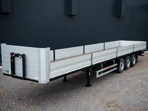 Wholesale double side cross led: 60Ton Drop Deck Lorry Semi Trailer