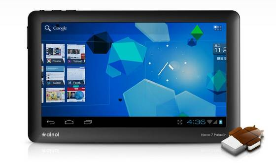 Sell Novo 7 Paladin Version 7 Inch Capacitive Tpuch Android 4.0 Tablet PC 1080P