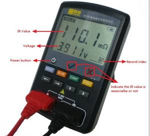 Wholesale voltage tester: Portable and Accurate Battery Tester Acir/Voltage Meter