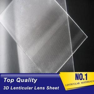 Wholesale organic polymer: 10 Lpi - 200 Lpi Lenticular Lens Sheet
