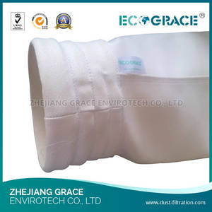 Wholesale non woven bag: Non Woven Polyester Needle Punched Felt Dust Filter Bag