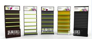 Wholesale supermarket display shelving: Muticolor Metal Shelves for All Products Display in Supermarket