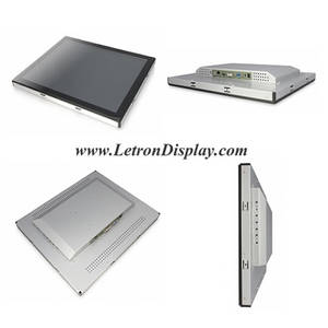 Wholesale lcd touch screen monitors: Open Frame 15 Industrial TFT LCD Monitor, Projected Capacitive Touch Screen Monitor