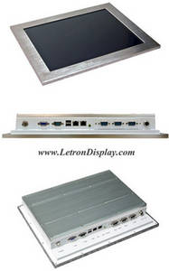 Wholesale panel pc: Rugged Fanless 15 Industrial Touch Screen Panel PC, All in One Touch Computer