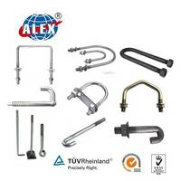 High Quality Customized J / L / U / V Anchor Bolts