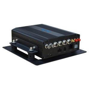 Wholesale gps tracking system: 4CH Full D1 HDD Vehicle Mobile DVR, Fleet GPS Tracking System