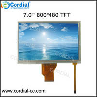 Sell 7.0 inch 800x480 TFT LCD MODULE CT070BPL17 with low price and high quality