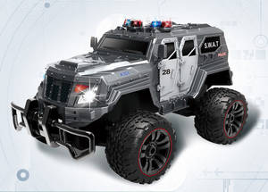 Wholesale police car: 1:12 Scale RC Racing Police Car,SWAT Vehicle