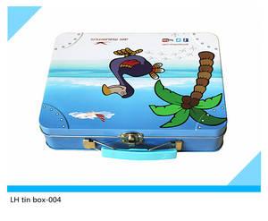Wholesale food tin: Rectangular Gift and Food Tin Box