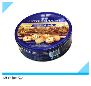Wholesale biscuit tin: Round Biscuit Tin Box