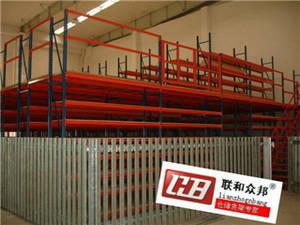 Wholesale industrial storage racks: Integrated Type Racks Mezzanine Racking Combination