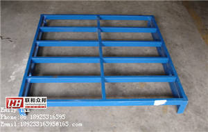 Wholesale Transport Packaging: Customized High Quality Stackable Heavy-duty Steel Pallet