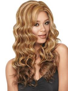 Wholesale wig: Gorgeous Long Layered Goddess Waves Synthetic Hair Wig