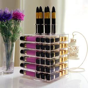 Wholesale makeup: Lifewit Acrylic 81 Slot  Rotating Cosmetic Organizer
