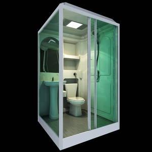 Wholesale mobile hospital: Prefab Bathroom