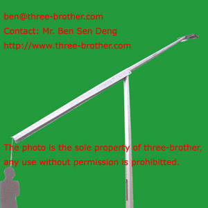Wholesale mid hinged lighting column: Hot Dip Gavanized Mid-hinged Lighting Columns