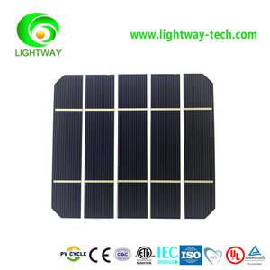 Wholesale solar cell: 1x5/25x125/5*5inch Mono-cyrstalline A Grade 2BB Continuous Busbar Silicon Pv Solar Cell Price