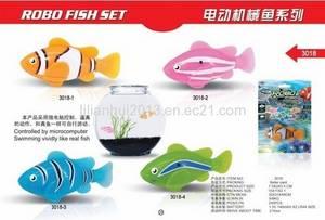 Wholesale toys: Creative Toys!3Magic Robo Fish Set Electronic PET Fish