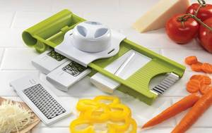 Wholesale Food Cutters & Slicers: 5 in 1 Kitchen Grater