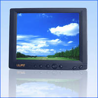 "Lilliput 8"" TFT Touch Screen with S-video TFT LCD Car Monitor"